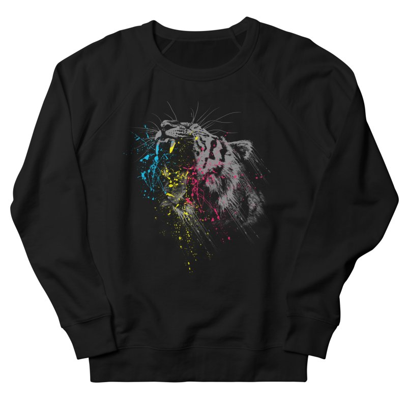 Rawr Men's French Terry Sweatshirt by Steven Toang