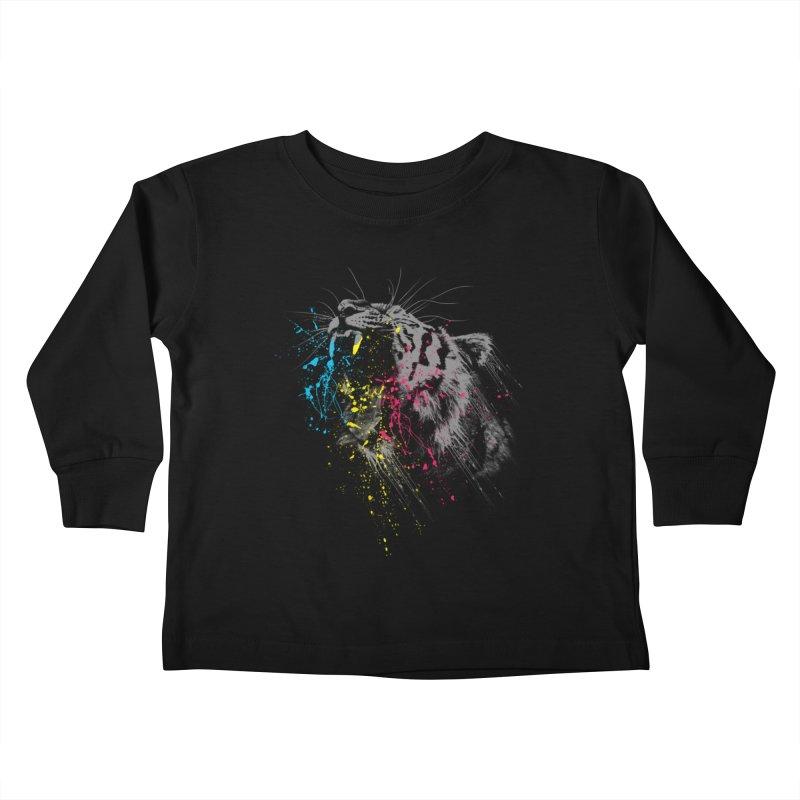 Rawr Kids Toddler Longsleeve T-Shirt by Steven Toang