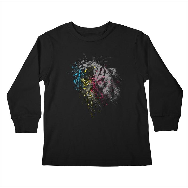 Rawr Kids Longsleeve T-Shirt by Steven Toang