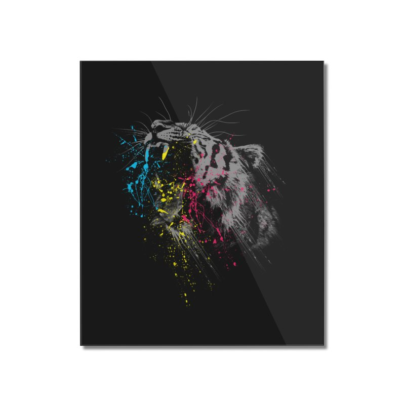 Rawr Home Mounted Acrylic Print by Steven Toang
