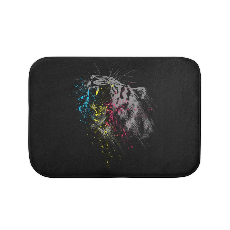 Rawr Home Bath Mat by Steven Toang