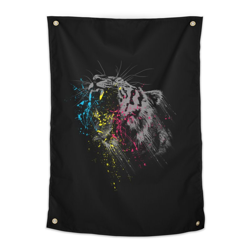 Rawr Home Tapestry by Steven Toang