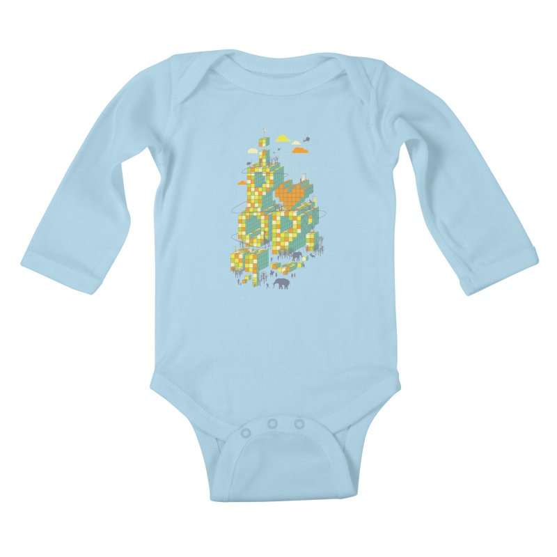 I love POP Kids Baby Longsleeve Bodysuit by Steven Toang