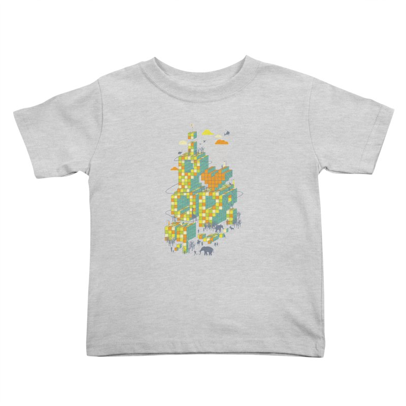 I love POP Kids Toddler T-Shirt by Steven Toang