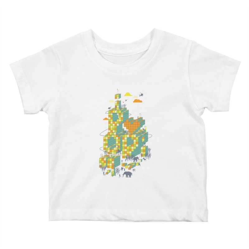 I love POP Kids Baby T-Shirt by Steven Toang