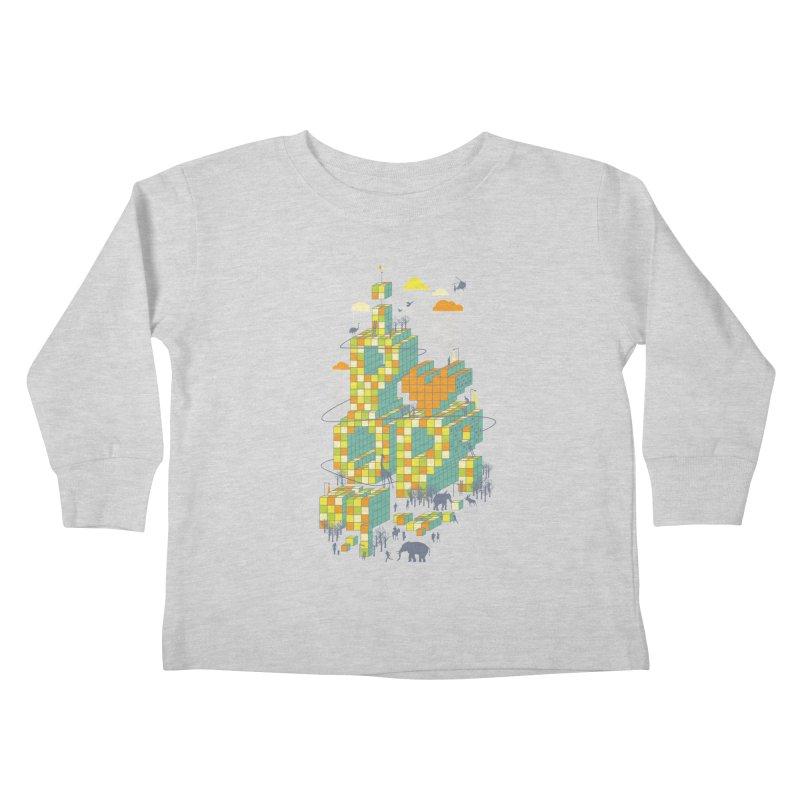 I love POP Kids Toddler Longsleeve T-Shirt by Steven Toang