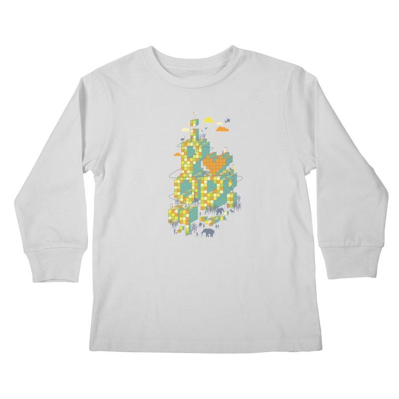 I love POP Kids Longsleeve T-Shirt by Steven Toang