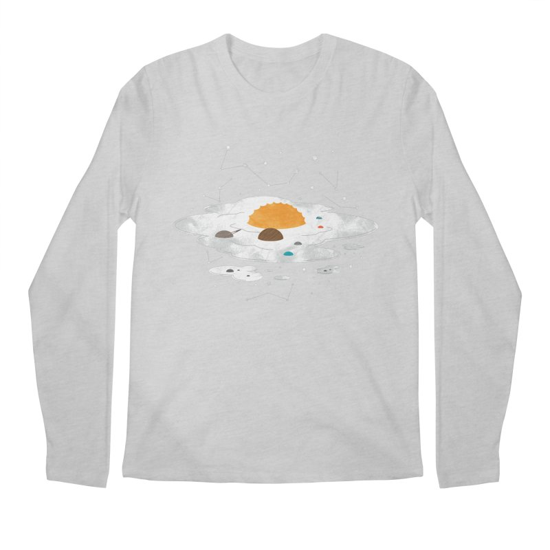 Egg Dimension Men's Longsleeve T-Shirt by Steven Toang