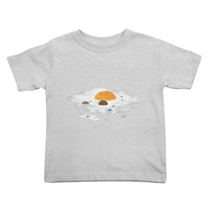 Egg Dimension Kids Toddler T-Shirt by Steven Toang