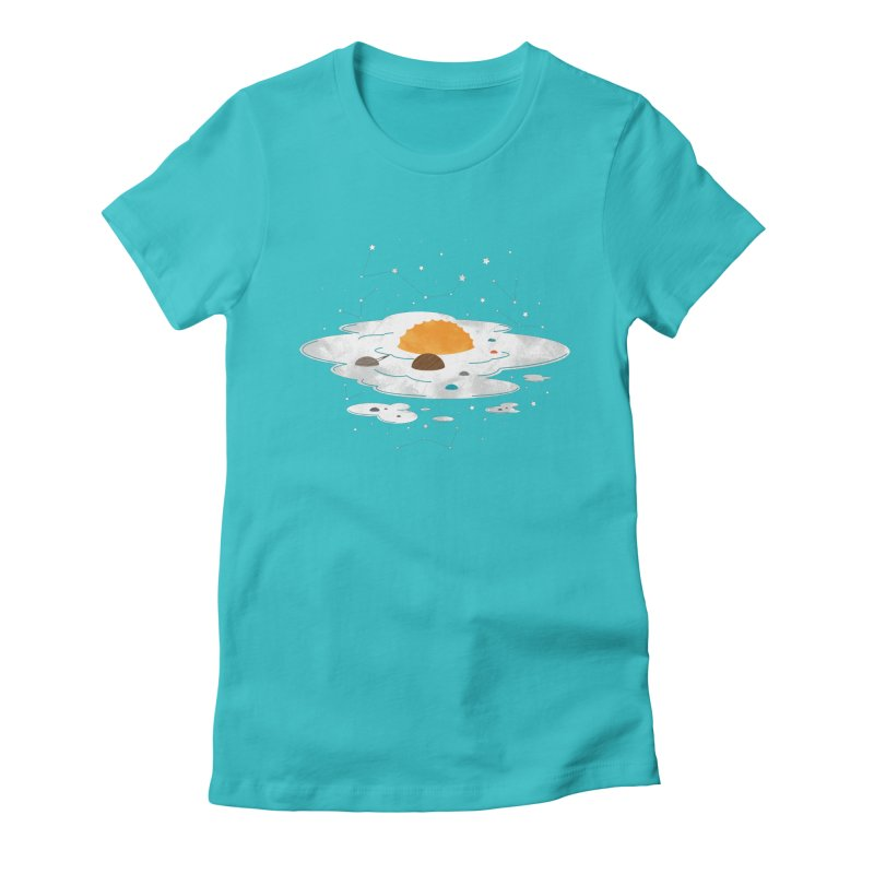 Egg Dimension Women's Fitted T-Shirt by Steven Toang