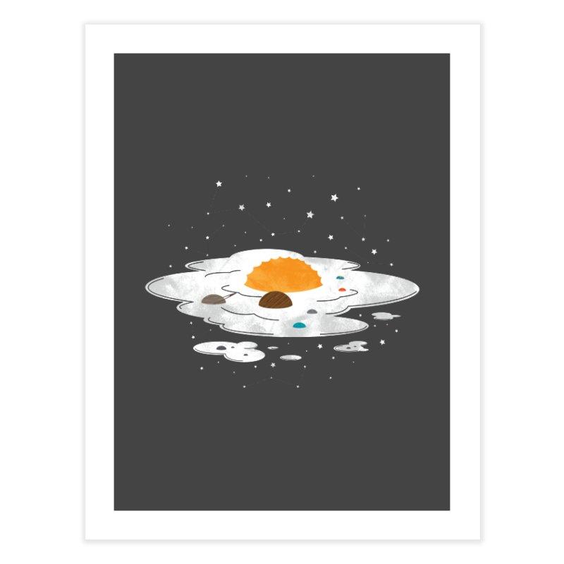 Egg Dimension Home Fine Art Print by Steven Toang