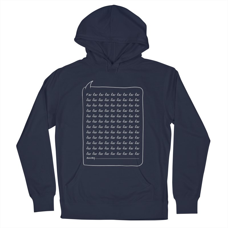 Far far away Men's French Terry Pullover Hoody by Steven Toang