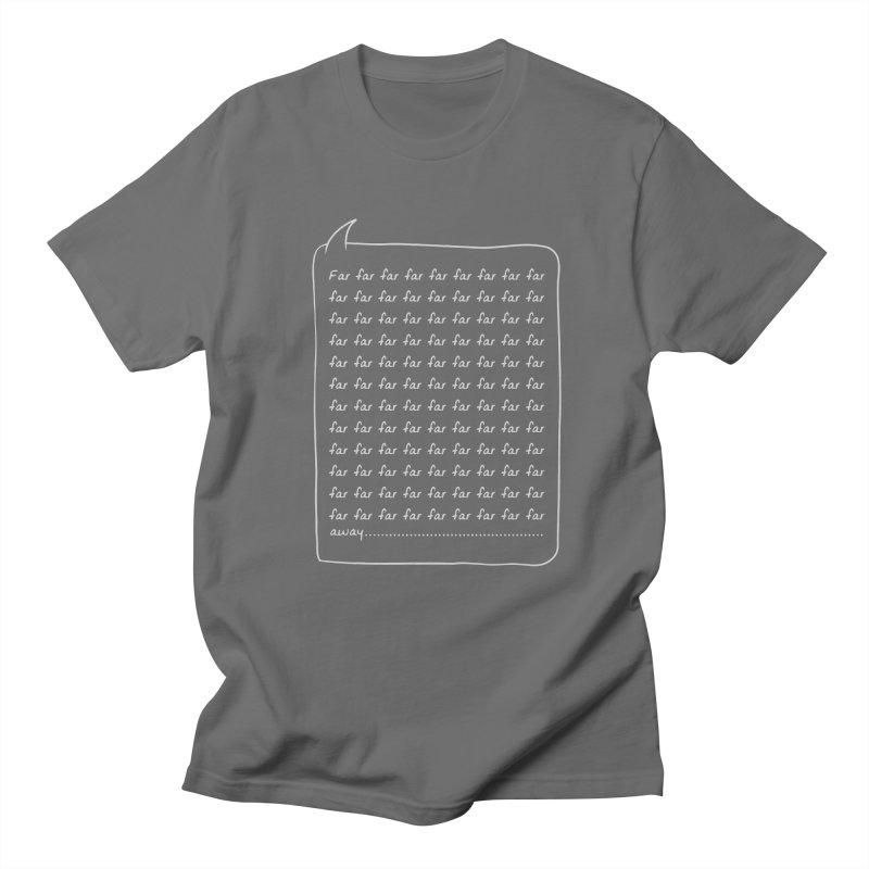 Far far away Men's T-Shirt by Steven Toang