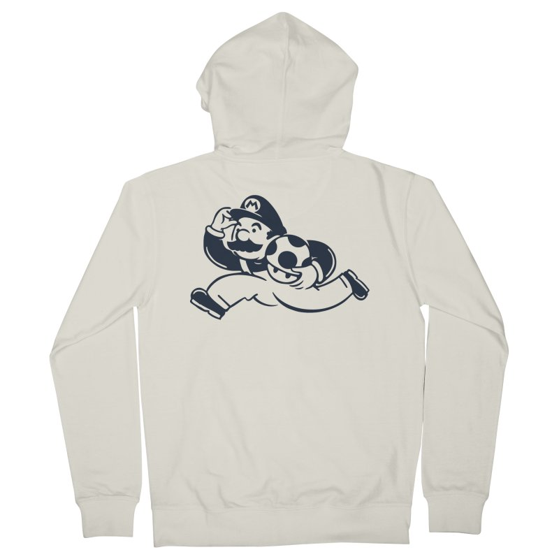 Mariopoly Men's French Terry Zip-Up Hoody by Steven Toang
