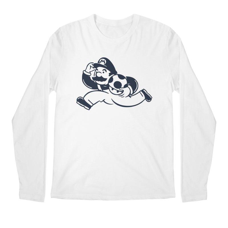 Mariopoly Men's Regular Longsleeve T-Shirt by Steven Toang