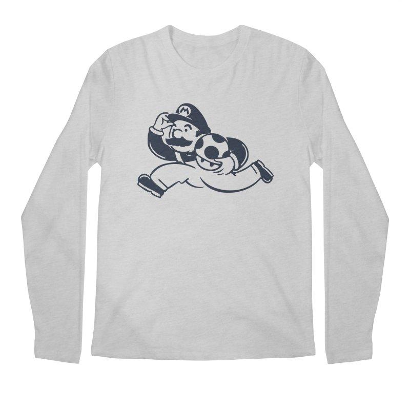 Mariopoly Men's Longsleeve T-Shirt by Steven Toang