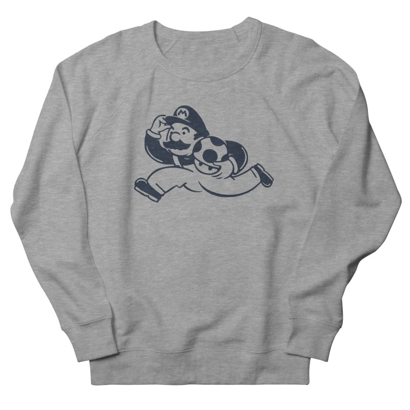 Mariopoly Men's French Terry Sweatshirt by Steven Toang