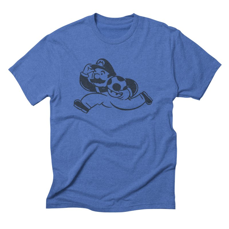 Mariopoly Men's Triblend T-Shirt by Steven Toang