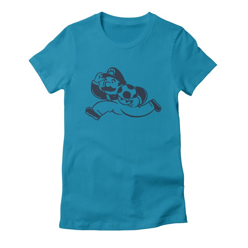 Mariopoly Women's Fitted T-Shirt by Steven Toang