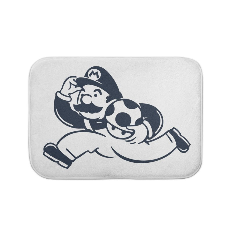 Mariopoly Home Bath Mat by Steven Toang