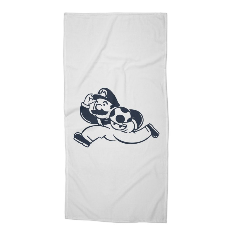 Mariopoly Accessories Beach Towel by Steven Toang