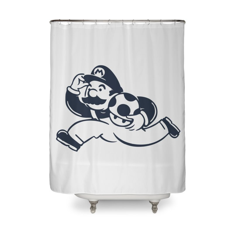 Mariopoly Home Shower Curtain by Steven Toang
