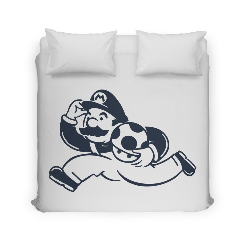 Mariopoly Home Duvet by Steven Toang