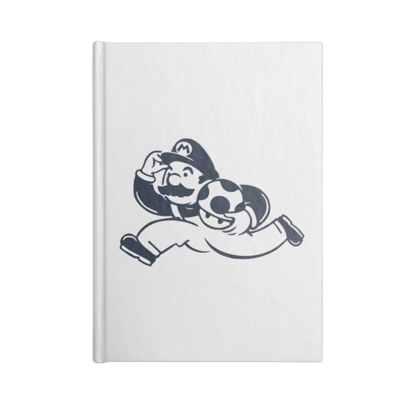 Mariopoly Accessories Blank Journal Notebook by Steven Toang