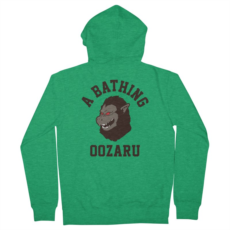 A Bathing Oozaru Men's Zip-Up Hoody by Steven Toang