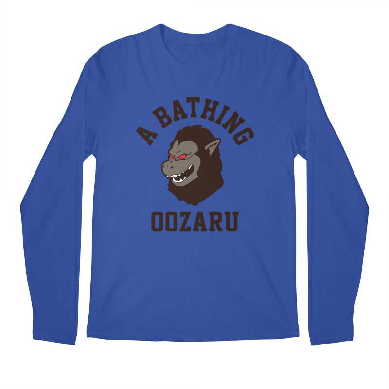 A Bathing Oozaru Men's Regular Longsleeve T-Shirt by Steven Toang