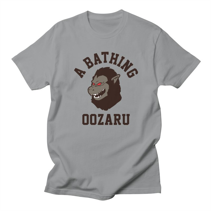 A Bathing Oozaru Men's T-Shirt by Steven Toang
