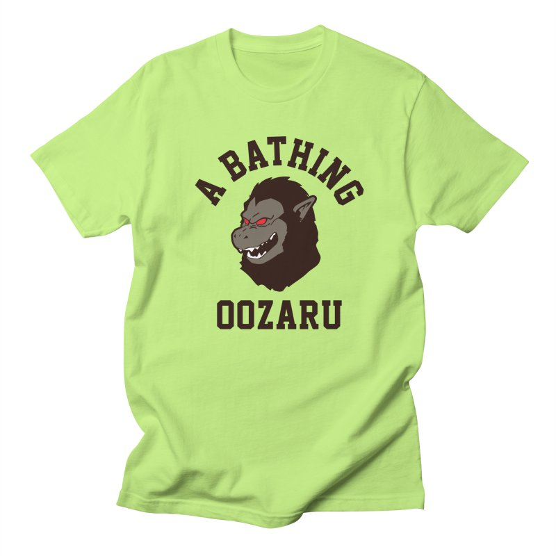 A Bathing Oozaru Women's Regular Unisex T-Shirt by Steven Toang