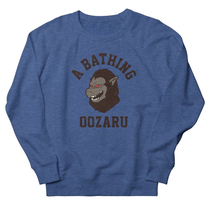 A Bathing Oozaru Women's French Terry Sweatshirt by Steven Toang