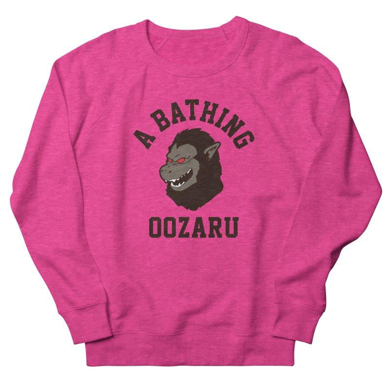 A Bathing Oozaru Women's French Terry Sweatshirt by Steven Toang