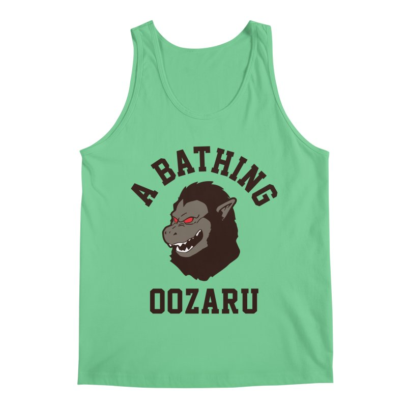 A Bathing Oozaru Men's Tank by Steven Toang