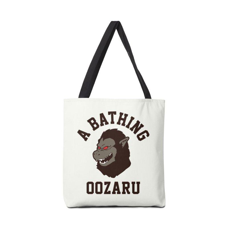 A Bathing Oozaru Accessories Bag by Steven Toang