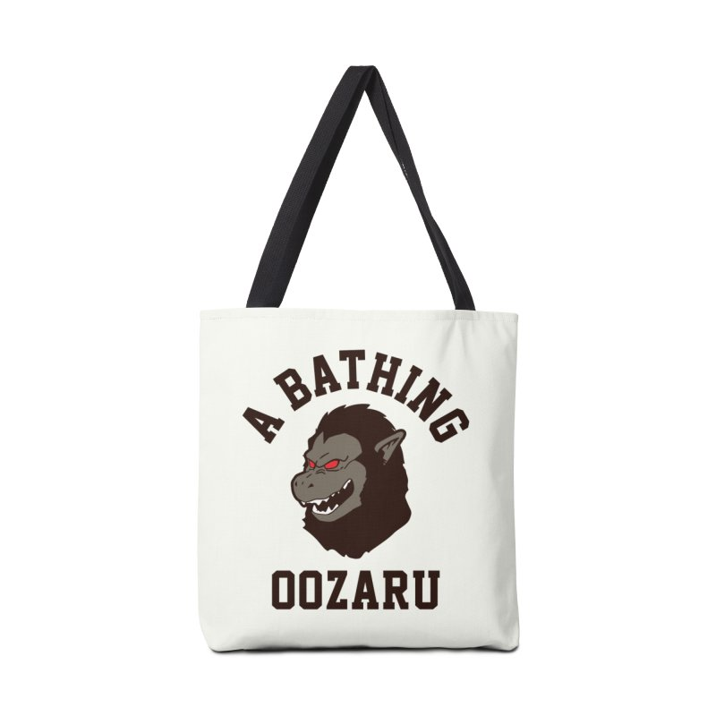 A Bathing Oozaru Accessories Bag by Steven Toang