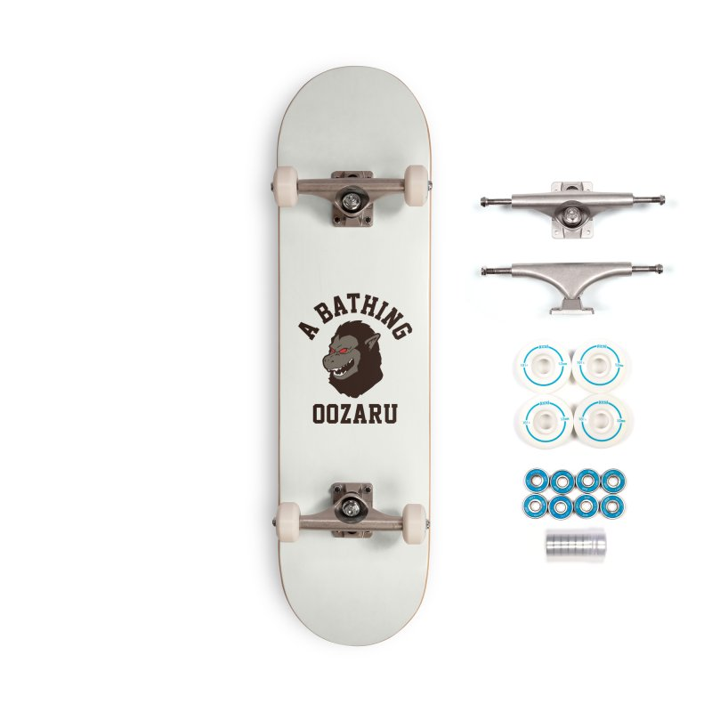 A Bathing Oozaru Accessories Complete - Basic Skateboard by Steven Toang