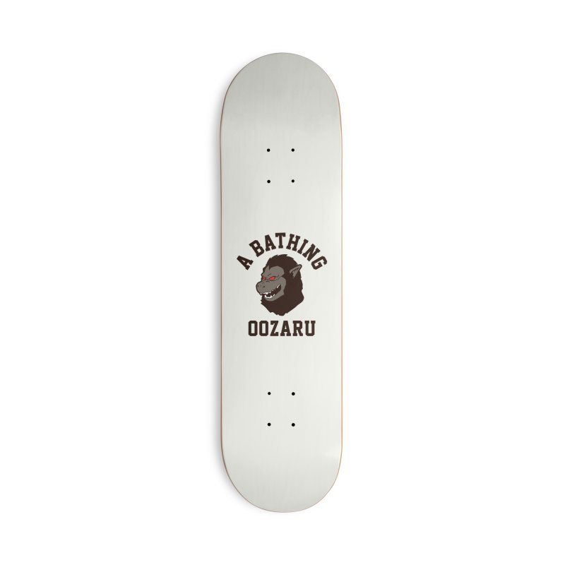 A Bathing Oozaru Accessories Deck Only Skateboard by Steven Toang