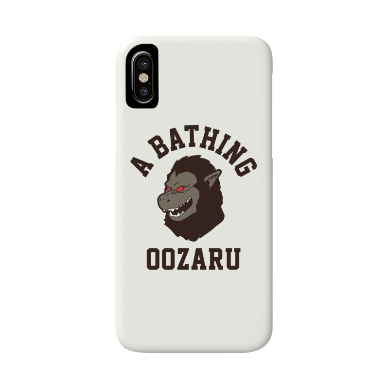 A Bathing Oozaru Accessories Phone Case by Steven Toang