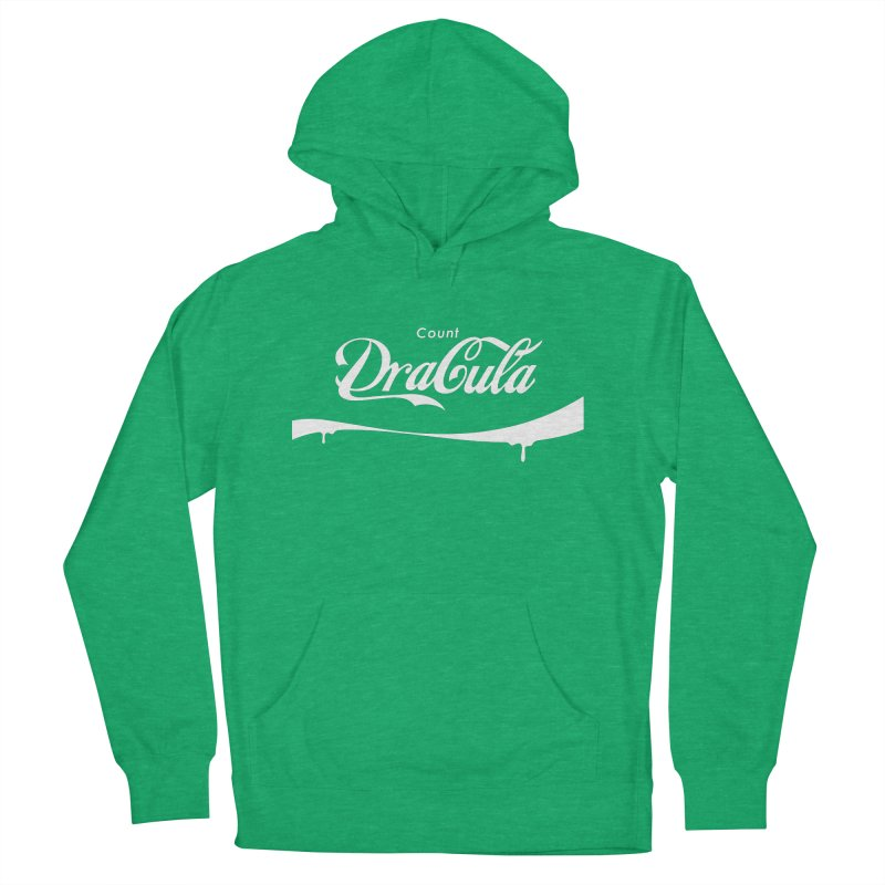 Count Dracula Men's French Terry Pullover Hoody by Steven Toang