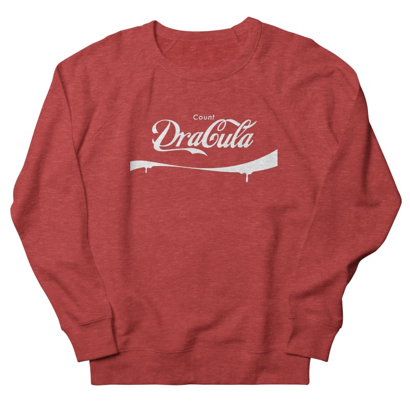 Count Dracula Men's French Terry Sweatshirt by Steven Toang