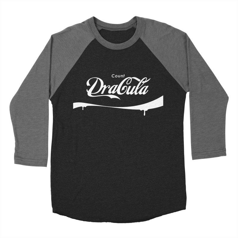 Count Dracula Men's Baseball Triblend T-Shirt by Steven Toang