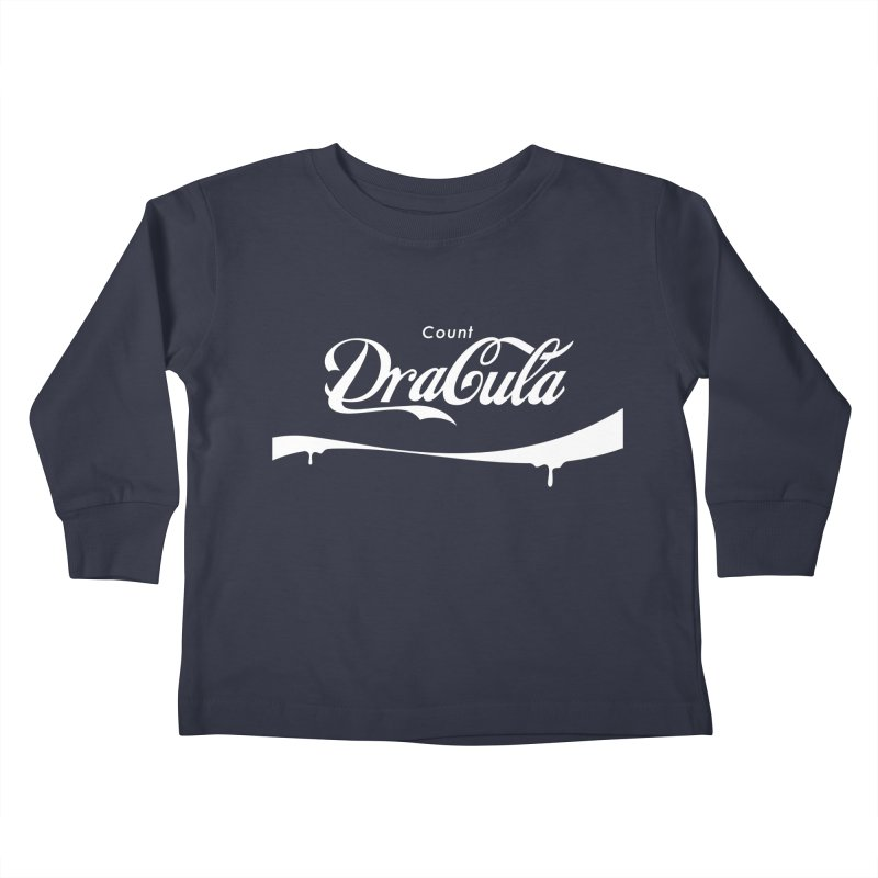 Count Dracula Kids Toddler Longsleeve T-Shirt by Steven Toang