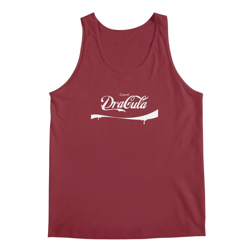 Count Dracula Men's Regular Tank by Steven Toang