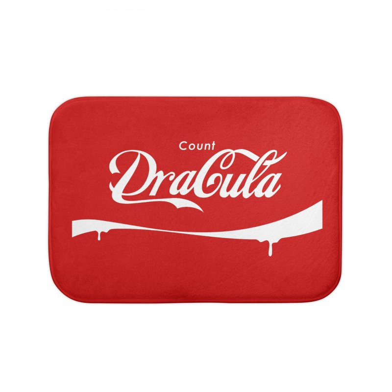 Count Dracula Home Bath Mat by Steven Toang