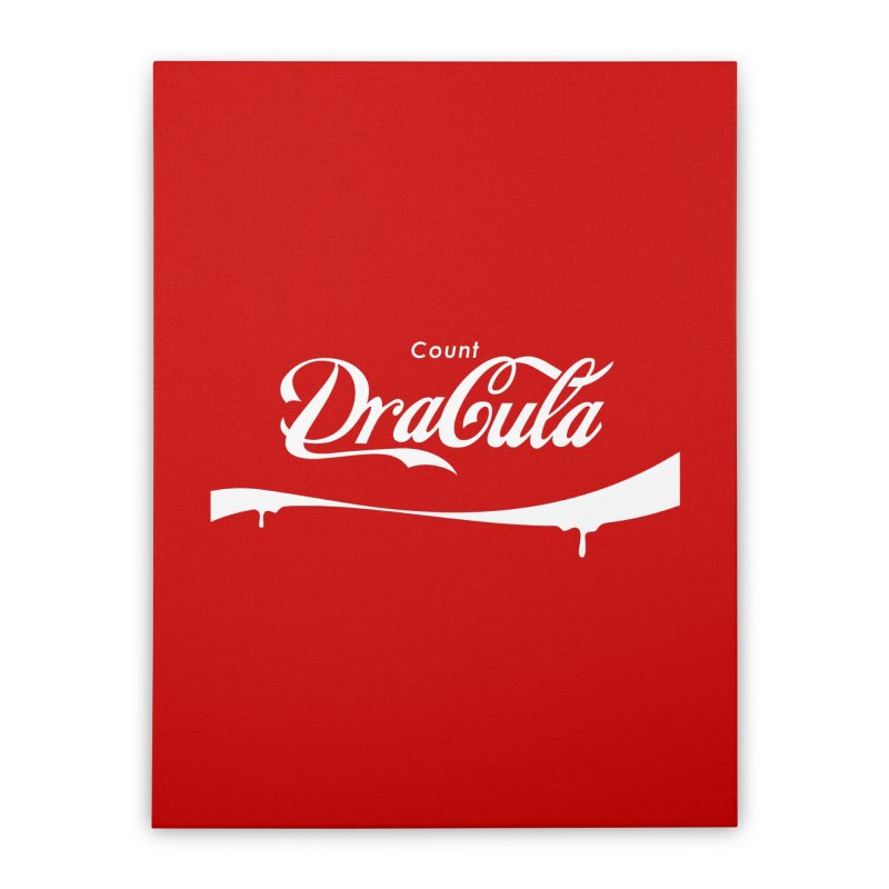 Count Dracula Home Stretched Canvas by Steven Toang