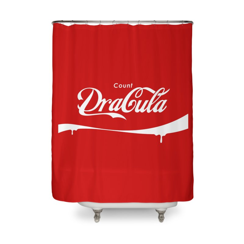 Count Dracula Home Shower Curtain by Steven Toang