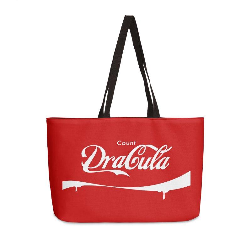 Count Dracula Accessories Weekender Bag Bag by Steven Toang