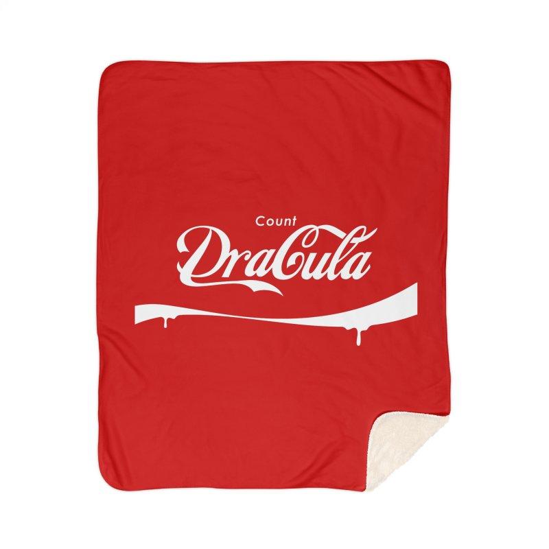 Count Dracula Home Blanket by Steven Toang